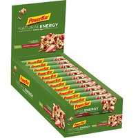 Powerbar Natural Energy Cereals 960g Strawberry 24 Units